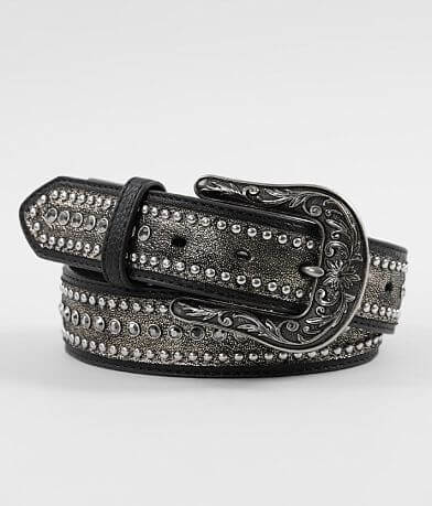 Ariat Studded Glitz Leather Belt