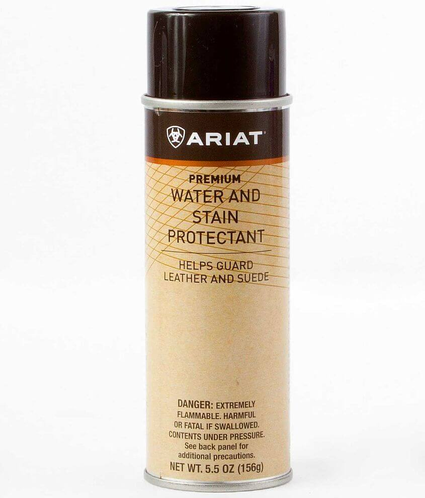 Style A27022/Sku 918043 5.5 oz spray protectant Helps guard leather and suede from water and oil-based stains Due to the contents of this product, this item is only available via Ground Shipping No shipping to Alaska, Hawaii or P.O. Boxes