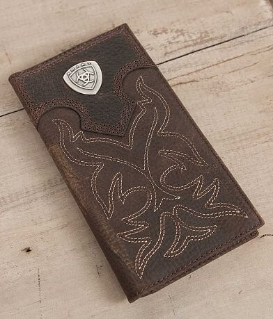 Ariat Western Rodeo Leather Wallet