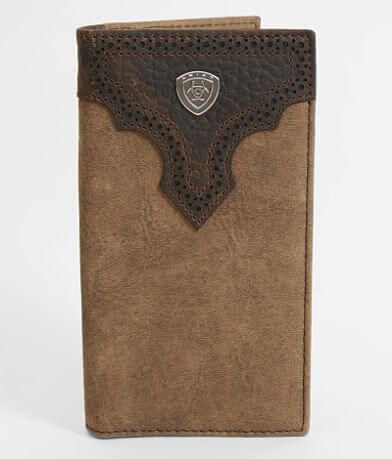 Ariat Laser 2 Tone Leather Rodeo Wallet
