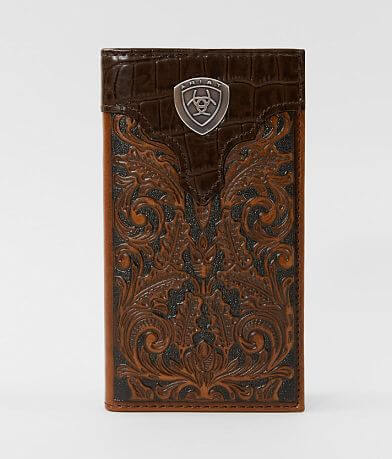 Ariat Tooled Rodeo Leather Wallet