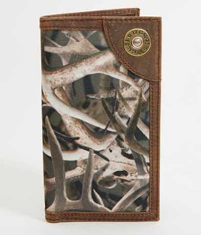 Ariat Camo Shell Rodeo Wallet