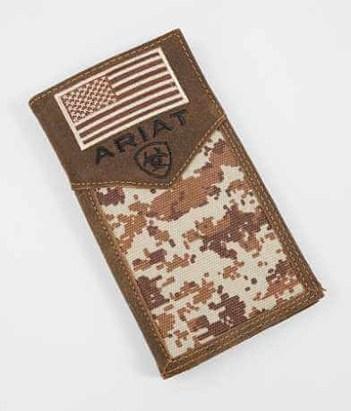 Ariat Patriot Camo Rodeo Wallet