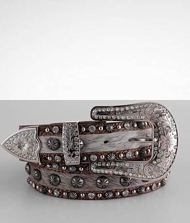 Angel Ranch Glitz Leather Belt