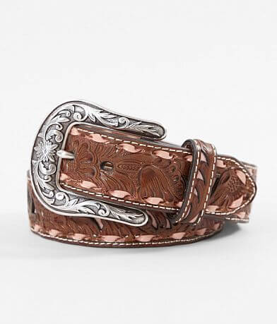 Nocona Tooled Leather Belt