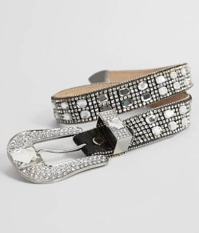 Leather Glitz Belt
