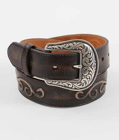 Nocona Embossed Conch Belt
