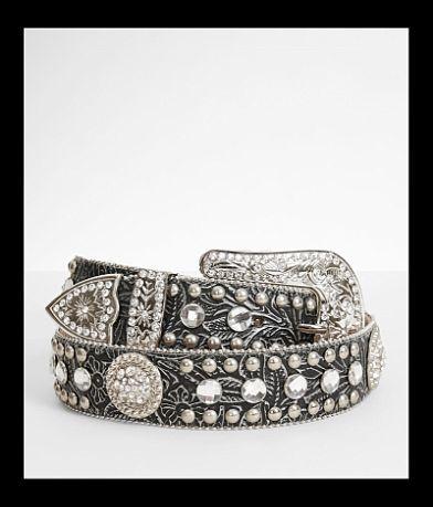 Blazin Roxx Glitz Leather Belt