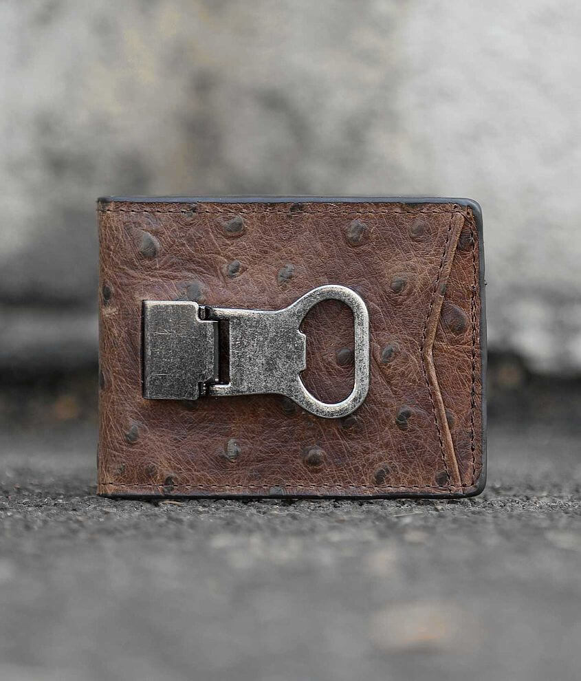 DBL Barrel Leather Wallet front view