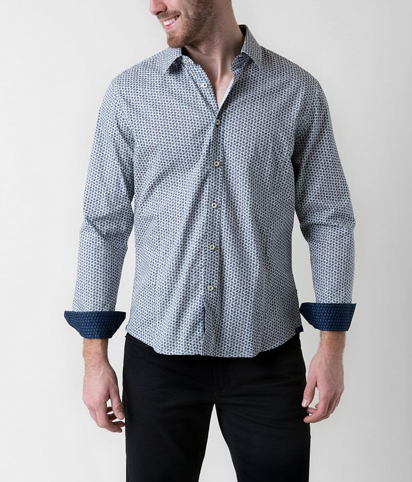 Level Ten Paisley Shirt front view
