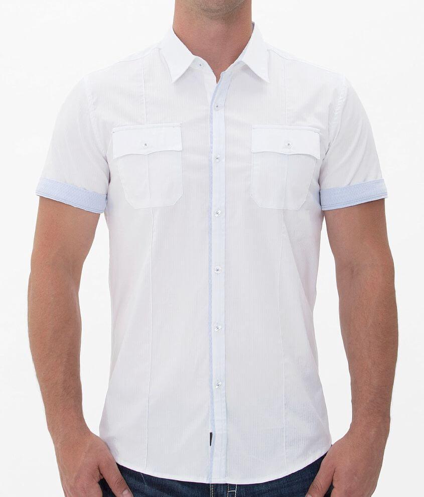 7Diamonds White Lie Shirt front view