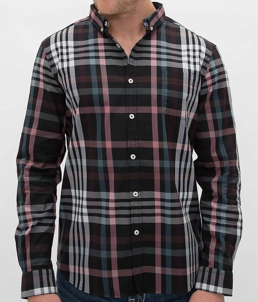 7Diamonds Harrington Shirt front view