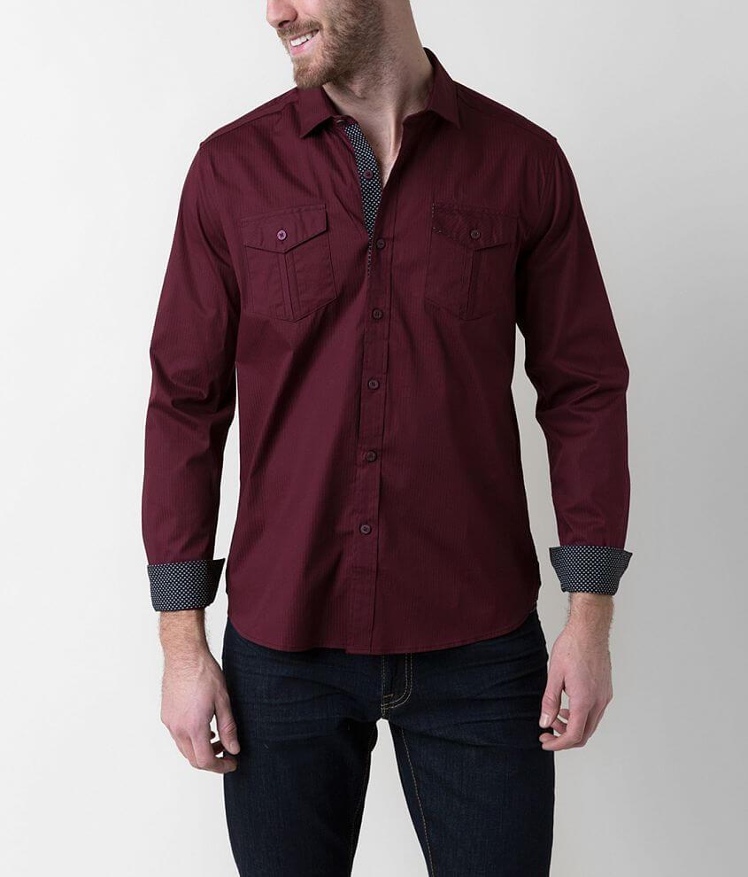 7Diamonds Backbeat Stretch Shirt front view