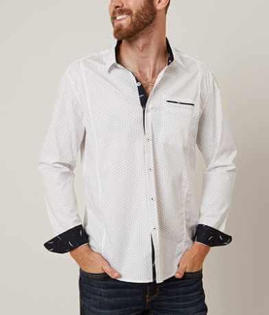 7Diamonds Rouge Waves Stretch Shirt