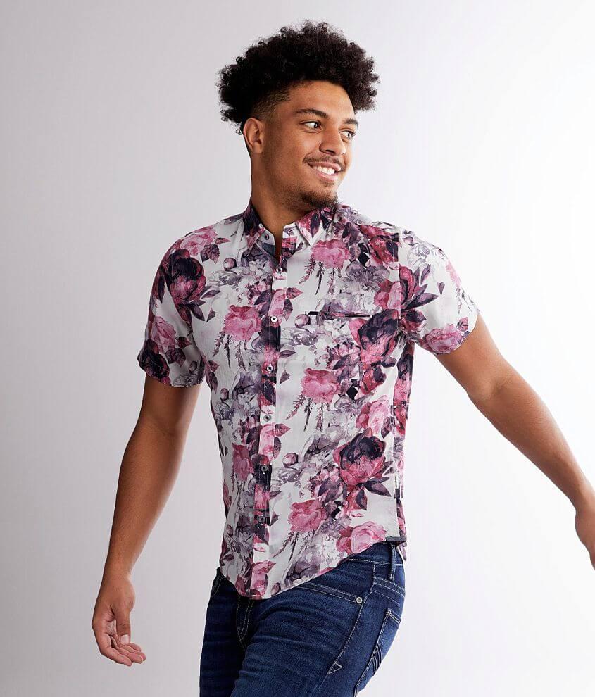 7Diamonds Journey Man Woven Shirt front view