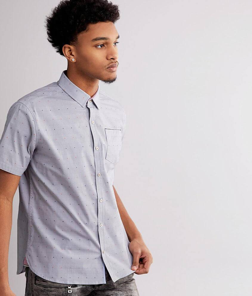 7Diamonds Mix Stretch Shirt front view