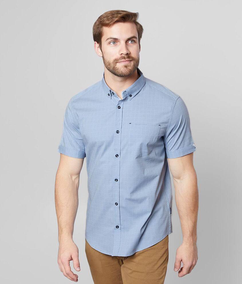 7Diamonds Sage Stretch Shirt front view