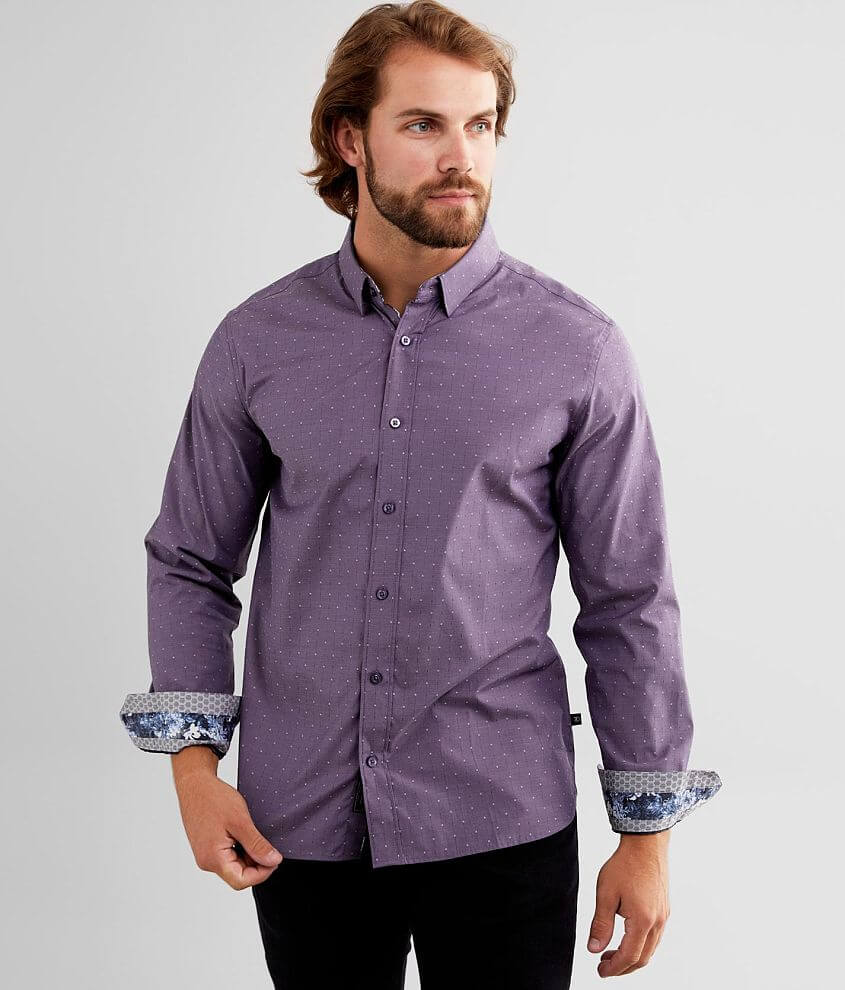 7Diamonds Fortunate Son Stretch Shirt front view