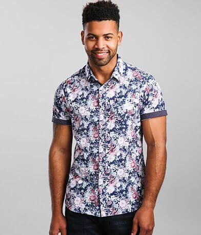 7Diamonds Calypso Sunday Stretch Shirt