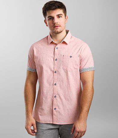 7Diamonds 7 Summers Jacquard Stretch Shirt