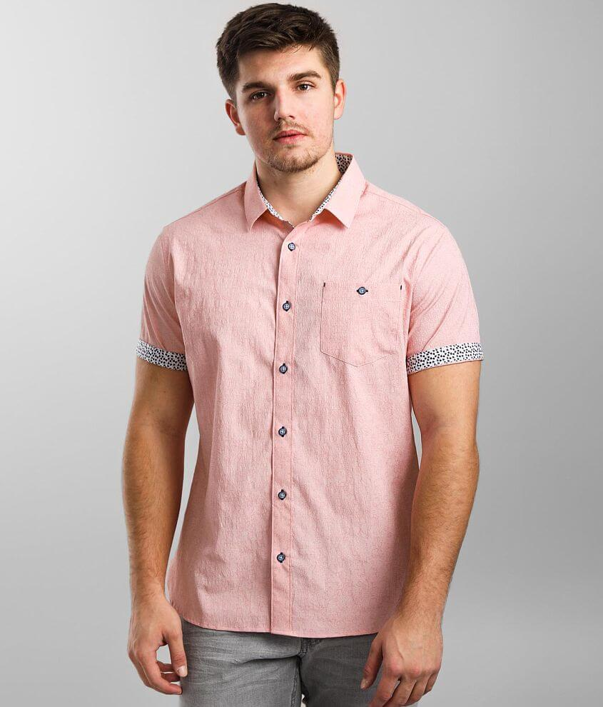 7Diamonds 7 Summers Jacquard Stretch Shirt front view