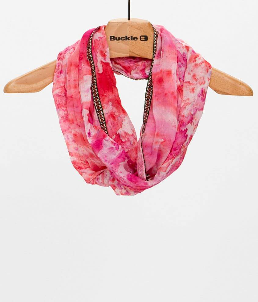 Tie Dye Scarf front view