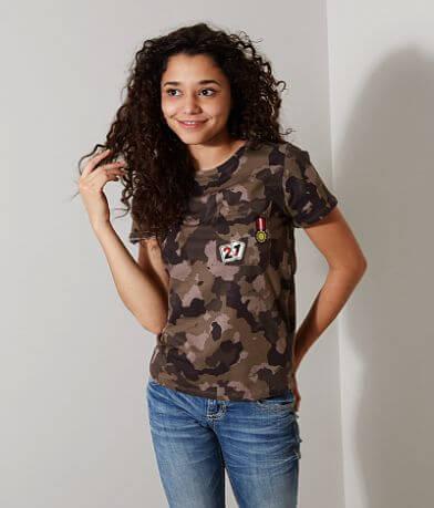 FITZ + EDDI Camo T-Shirt