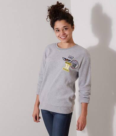 FITZ + EDDI Reverse Fleece Sweatshirt