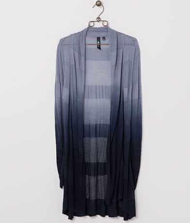 BKE Boutique Ombre Cardigan Sweater