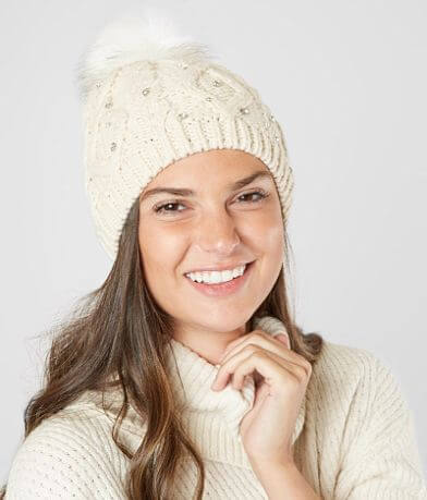 MADISON 88 Embellished Beanie