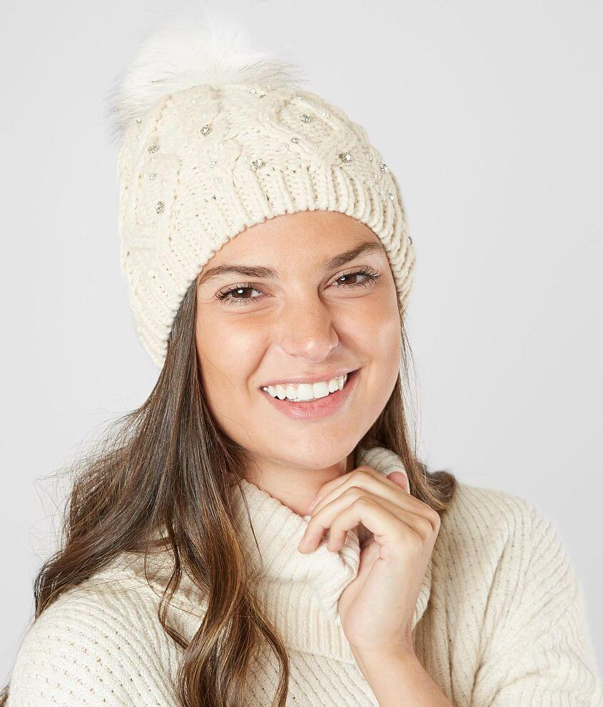 e2ba5643d MADISON 88 Embellished Beanie - Women's Hats in Cream | Buckle