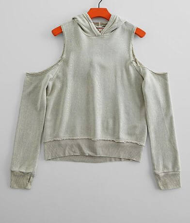 Girls - Vintage Havana Cold Shoulder Sweatshirt