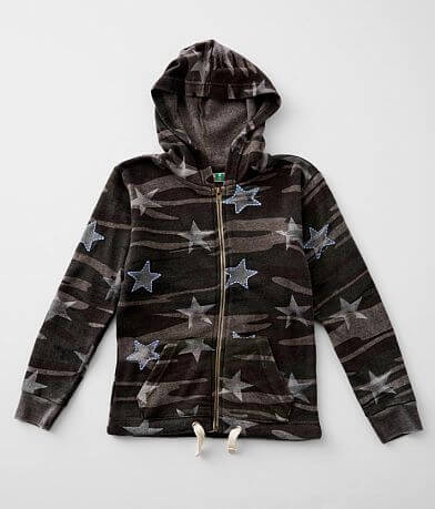 Girls - Vintage Havana Camo Hooded Sweatshirt