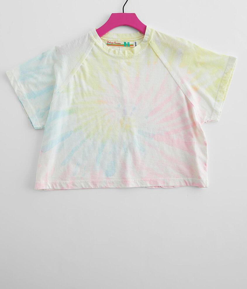 Girls - Vintage Havana Tie Dye T-Shirt front view