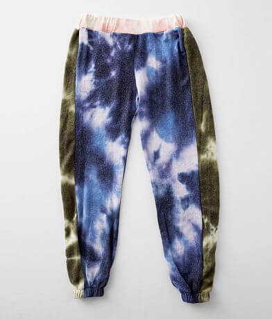 Girls - Vintage Havana Tie Dye Fleece Jogger