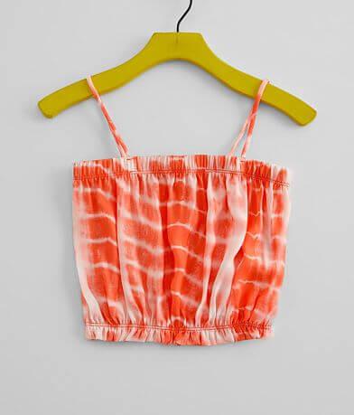 Girls - Vintage Havana Chiffon Tie Dye Tank Top