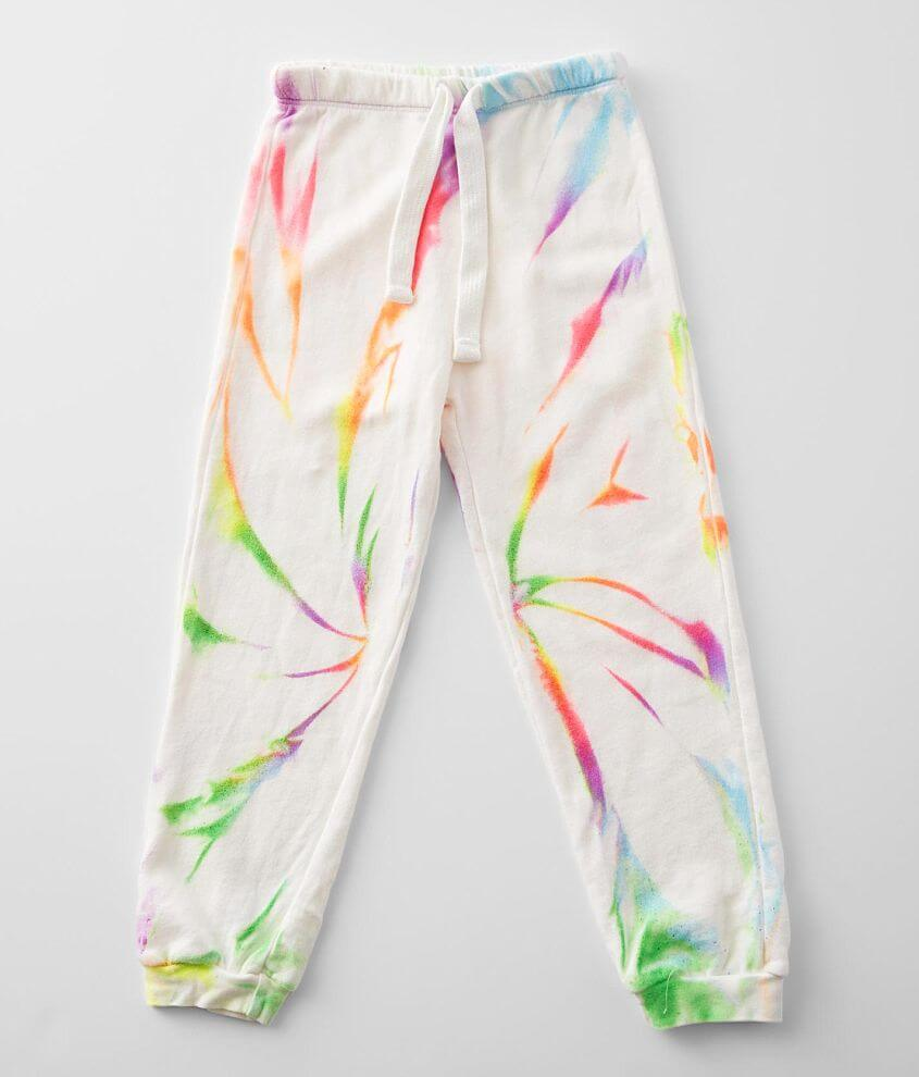 Little Girls - Play Six Neon Jogger Sweatpant front view