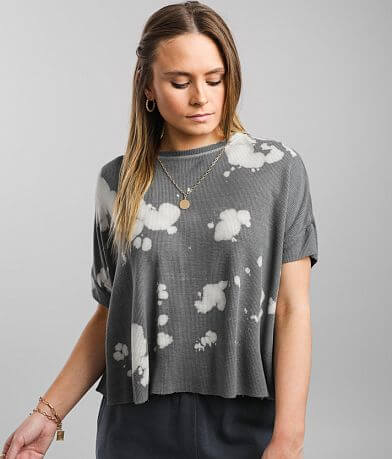 Gilded Intent Bleach Washed Boxy T-Shirt