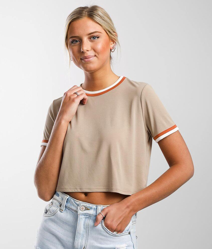 FITZ + EDDI Modal Blend T-Shirt front view