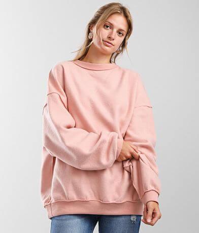 FITZ + EDDI Reverse Fleece Pullover - One Size