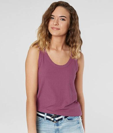 BKE core Double Strap Tank Top