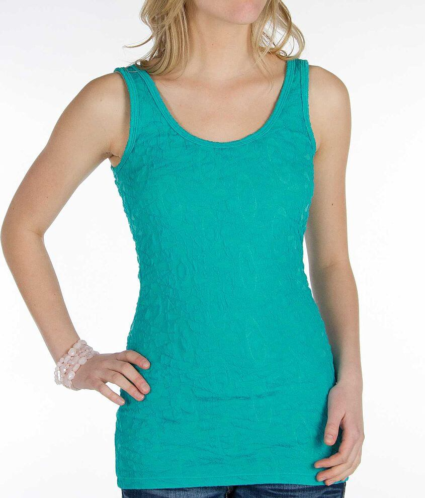 BKE Textured Tank Top front view