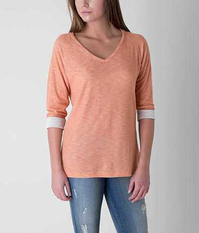 BKE Cuffed Sleeve Top