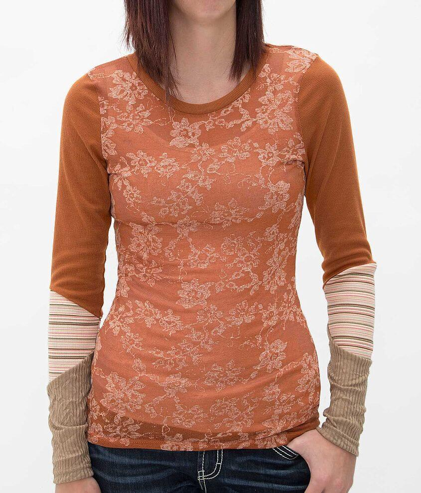 BKE Printed Top front view