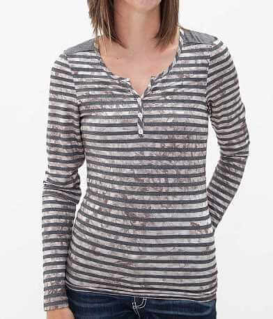 BKE Striped Henley Top