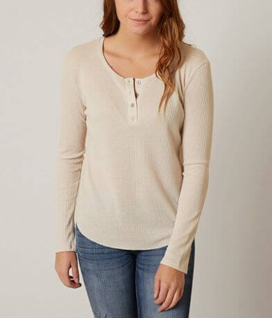 BKE Thermal Henley Top