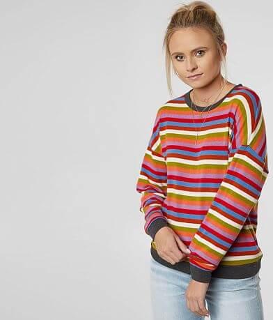 BKE Striped Knit Top