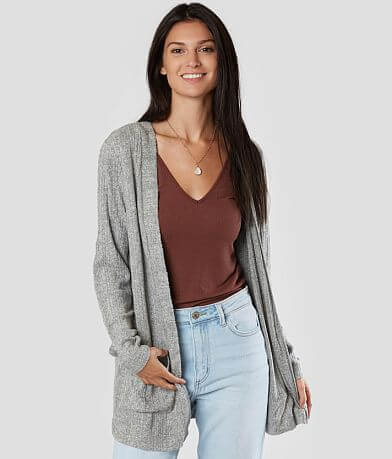 Daytrip Ribbed Cardigan Sweater