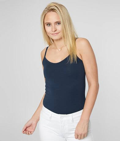 BKE core Short Length Two-Way Tank Top