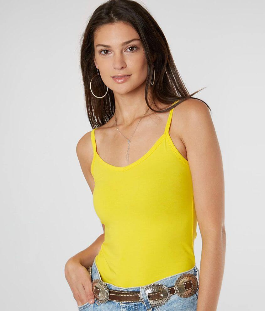 BKE core Short Length Two Way Tank Top front view